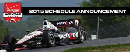 La IndyCar Series presenta de nuevo un calendario compacto para 2015