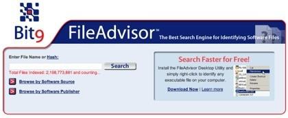 FileAdvisor, identifica tus ficheros