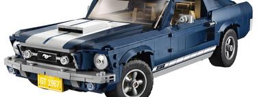Lego revive el Mustang 67 solo para constructores muy pacientes