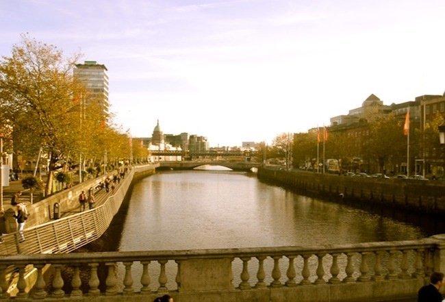 Puentes sobre Dublin