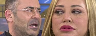 """Jorge Javier Vázquez estalla tras esta amenaza de Belén Esteban: """"Ese comentario demuestra el tipo de persona que eres"""""""