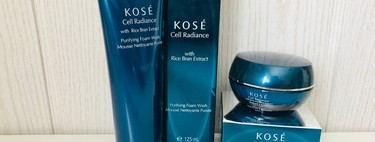 Los dos productos de Kosé Cell Radiance que hemos probado para tener el rostro limpio y fresco: amarás tu cara lavada