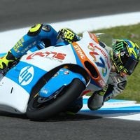 Lorenzo Baldassarri le arrebata la pole de Jerez a Álex Márquez ¡por sólo 71 milésimas!