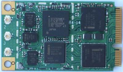 Módulo de WiMAX de Intel