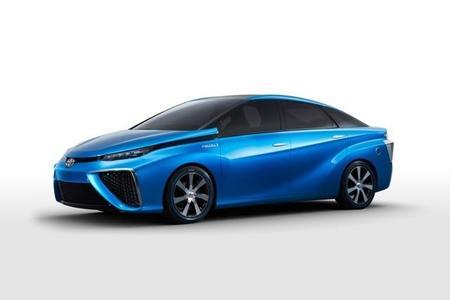 Toyota Fuel Cell Concept se presenta en el Consumer Electronics Show