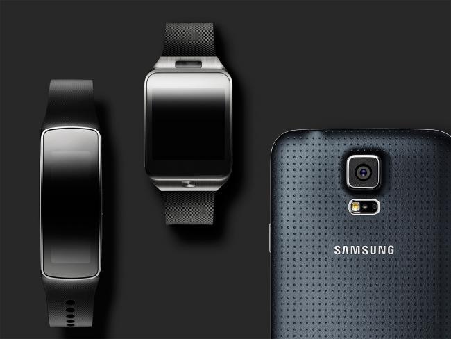 Samsung Galaxy S5 gears