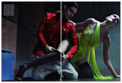 Jon Kortajarena para Vogue Italia