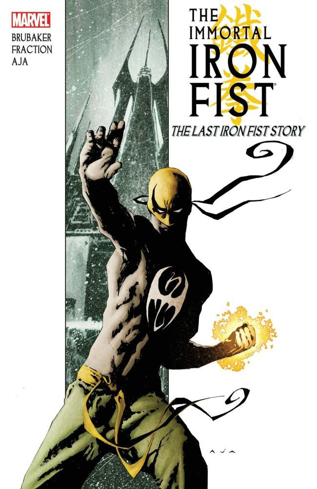 Iron Fist Brubaker Fraction Aja