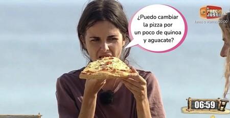 El bochornoso espectáculo de 'Supervivientes' con Alexia Rivas: Jordi González pierde las formas y la obliga a comer pizza