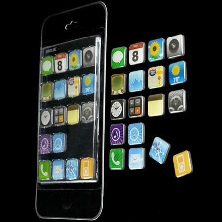 App Magnets, imanes inspirados en el iPhone