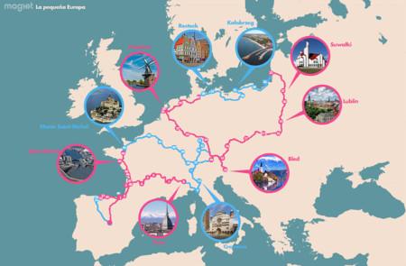 Las tres mejores rutas para conocer Europa en coche en un mes