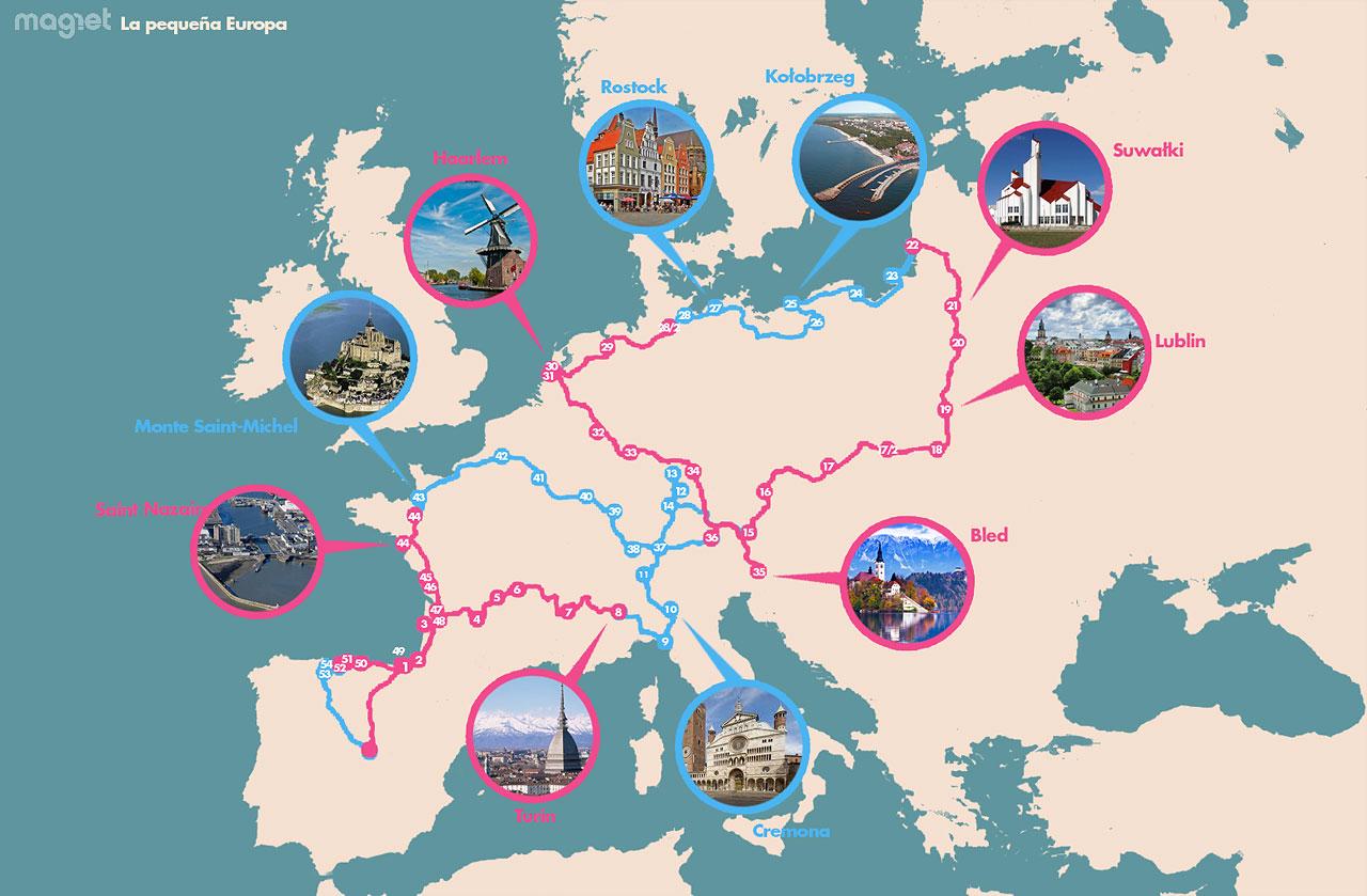 Las tres mejores rutas para conocer europa en coche en un mes - Asegurar coche un mes ...