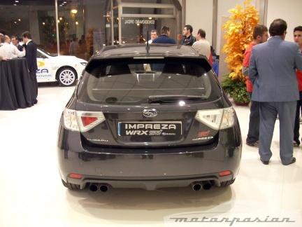 Subaru presenta en sociedad el Impreza WRX STI y el Impreza Cup