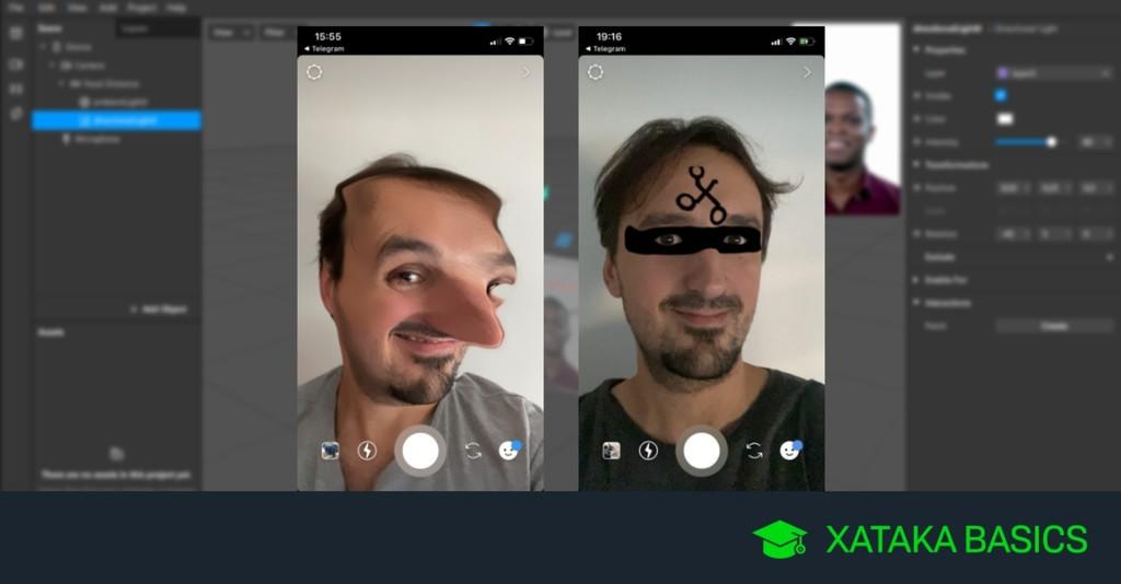 Cómo crear tus propios filtros de Instagram y Facebook con Spark AR Studio