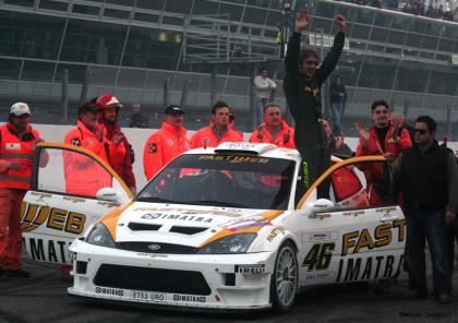 Valentino Rossi en Gales con un Focus RS WRC07