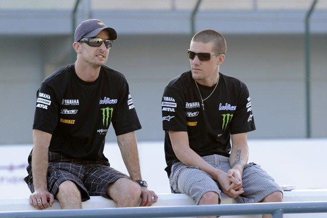 Ben Spies y Colin Edwards