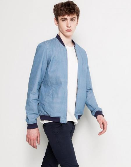 Pull & Bear Menswear Bomber Jacket