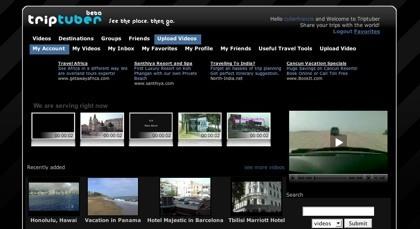 Triptuber, compartiendo los vídeos de los lugares visitados