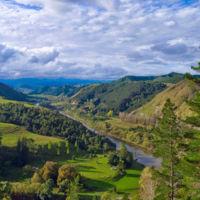 La carretera al pasado de Nueva Zelanda: Whanganui River Road