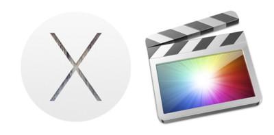 Final Cut Pro X y OS X Yosemite