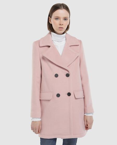 mejor selección 518ac d6936 Este abrigo en color rosa palo está en El Corte Inglés con ...