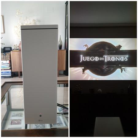 Lg Hu80ksw Video Proyector 2500 Lúmenes Ansi Dlp 2160p 3840x2160 1500001 169 762 3810 Mm 30 150