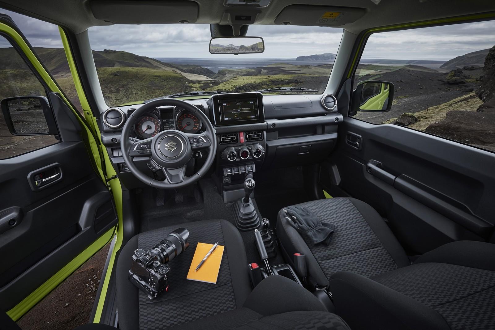 Foto de Suzuki Jimny 2019 prueba (38/57)
