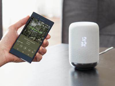 Sony LF-S50G, el nuevo altavoz para el hogar con Google Assistant