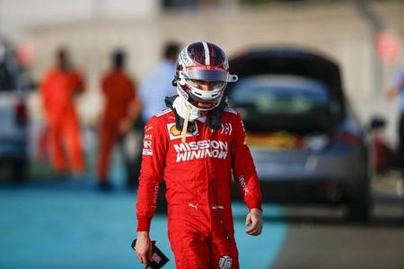 Leclerc Abu Dabi F1 2019