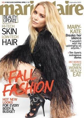 Mary-Kate Olsen portada Marie Claire pelos
