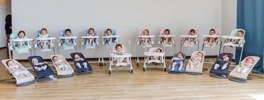 Una pareja tiene 20 bebés en menos de un año a través de la gestación subrogada