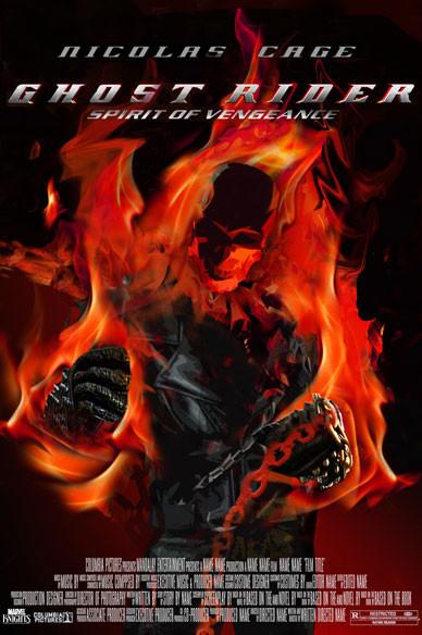 Ghost Rider Espiritu Fan