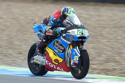 Franco Morbidelli hace méritos para subir a MotoGP ganando una carrera de contacto en Assen