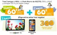 Jazztel sigue apostando por su Plan Amigo para revitalizar la captación de clientes de ADSL