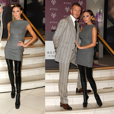 David y Victoria Beckham presentan sus fragancias en Nueva York