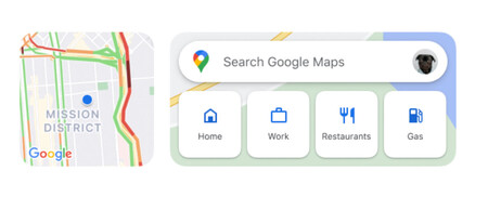 Google Maps Widgets Ios
