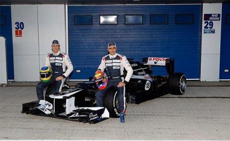 Williams presenta el FW34