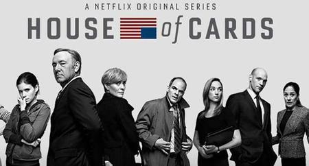 Netflix recibe un globo de oro por House of Cards