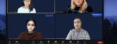 La transcripción en tiempo real llega para todos los usuarios de Zoom