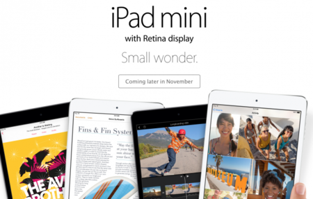 Rumor: Apple lanzará el iPad Mini con retina display mañana