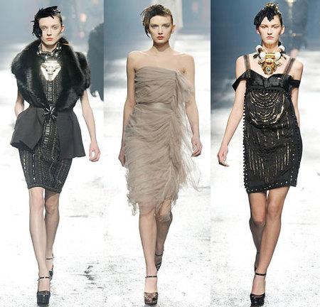 Lanvin Otoño-Invierno 2009/10 en la Semana de la Moda de París