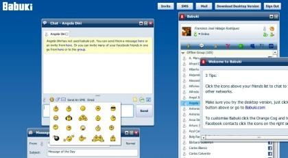 Babuki, el sistema de mensajería acoplado a Facebook