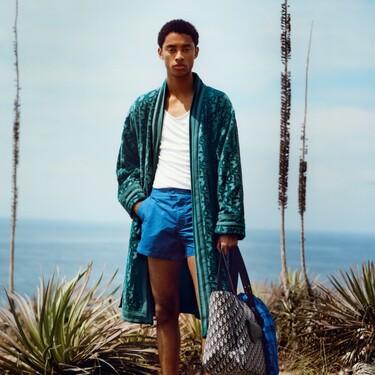 Los looks de playa se visten de lujo con la colección Beachwear de Dior Men