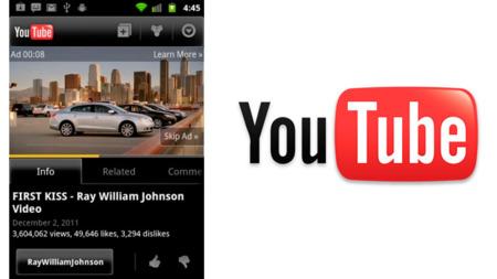 YouTube permite desde ahora saltar los anuncios en su versión para móviles