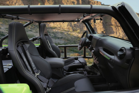 Jeep Trailcat Concept interior