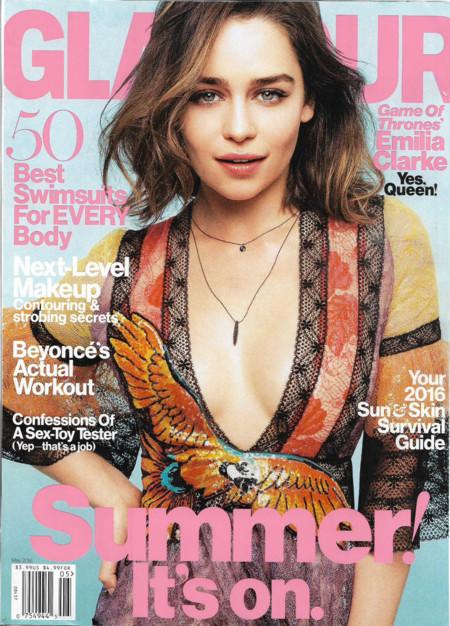 Glamour USA: Emilia Clarke