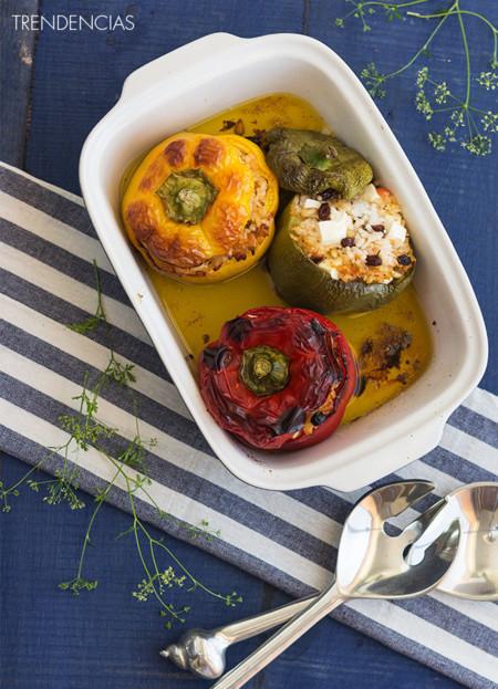 Pimientos rellenos al estilo griego y un aperitivo muy chic en la quincena gourmet de Trendencias Lifestyle (XLIX)