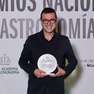 Ricard Camarena, Premio Nacional de Gastronomía al Mejor Jefe de Cocina