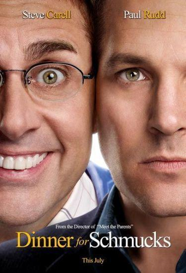 'Dinner for Schmucks', tráiler y cartel del remake de 'La cena de los idiotas'