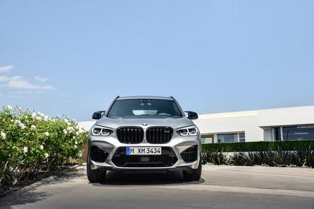 BMW X3 M 2020 frontal